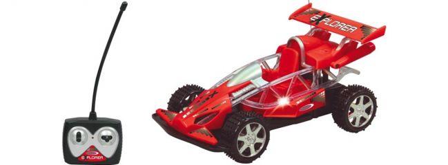 Jamara 403780 RC Explorer (rot) RC Auto Fertigmodell im Maßstab 1:14