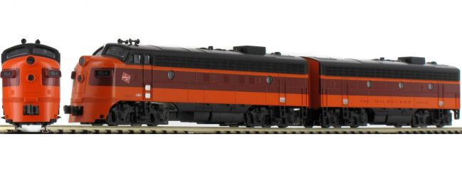 KATO 701060430 EMD FP7A und F7B Lokomotiven-Set | Milwaukee | analog | Spur N