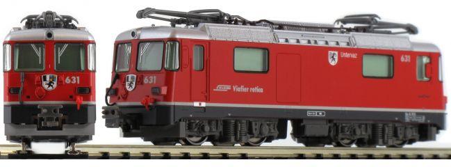 KATO 7074047 Elektrolokomotive Ge 4/4 II Räthische Bahn Untervaz 631 analog Spur N