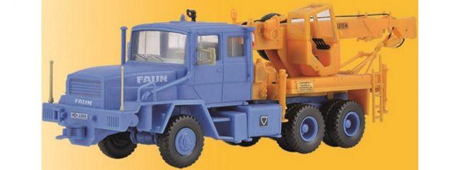 kibri 10108 Faun HZ mit Bilstein Kran | Fahrzeug Bausatz Spur H0