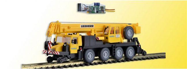 kibri 10558 Zweiwege-Mobilkran LTM 1050-4 mit LED Beleuchtung Bausatz 1:87