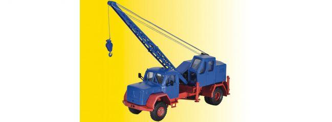 kibri 11290 H0 Magirus Eckhauber mit Fuchsbagger Baumaschinen-Bausatz Spur H0