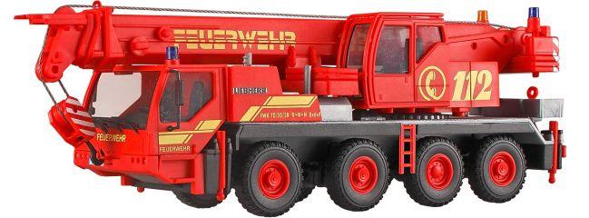 kibri 13041 Liebherr LTM 1050/4 Feuerwehr Kranwagen Bausatz Spur H0