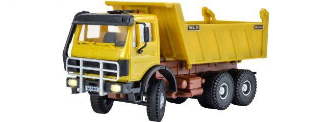 KIBRI 14023 MB Meiler Kipper 3-achsig mit LED | Fahrzeug Bausatz Spur H0