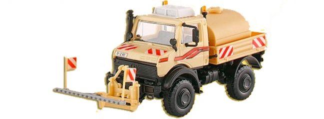 kibri 14983 Unimog U2400 mit Sprüheinrichtung | LKW Bausatz Spur H0