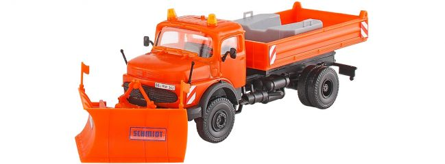 kibri 15001 MB Rundhauber mit Spitzpflug SCHMIDT Bausatz Spur H0
