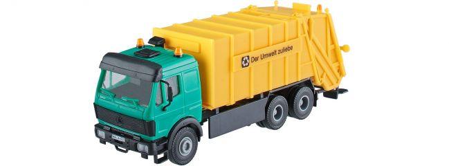 kibri 15010 MB SK Müllwagen für Container Bausatz Spur H0