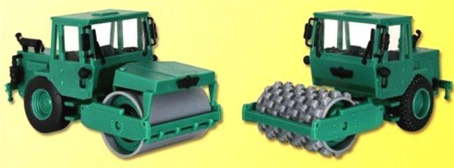 kibri 15212 HAMM Vibrations- und Stampffusswalze 2 Stück Bausatz Spur H0