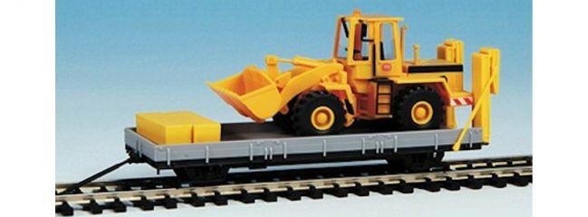 KIBRI 16308 Robel Anhänger 55.54 mit Baugerät Bausatz Spur H0