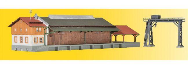 kibri 36606 Gueterhalle mit Ueberladekran Bausatz Spur Z