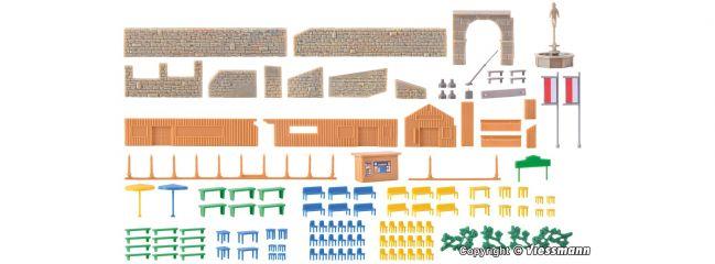 kibri 36694 Deko-Set am Brunnen | Bausatz Spur Z