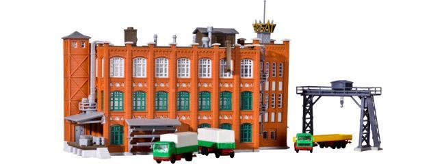 kibri 36762 Fabrik aus der Gründerzeit mit Zubehör | Gebäude Bausatz Spur Z
