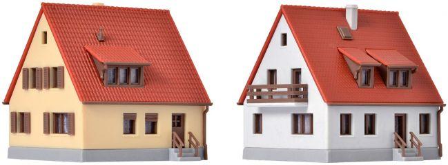 kibri 36780 Siedlungshaus aus den 30er Jahren | 2 Stück | Bausatz Spur Z