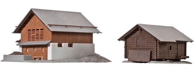 kibri 36817 Stall mit Stadel in Elm Bausatz Spur Z
