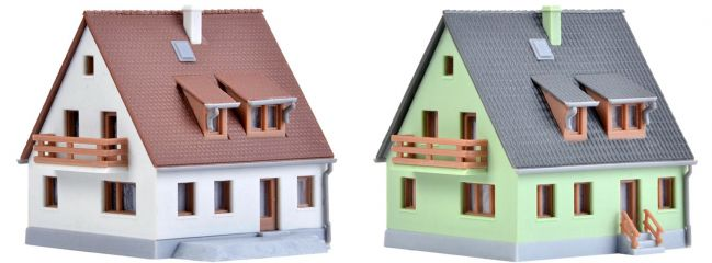 kibri 36829 Siedlungshaus am Steinweg | 2 Stück | Bausatz Spur Z