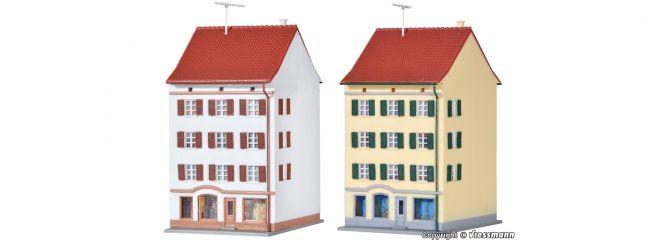 kibri 36841 Stadthaus mit Ladengeschäft | 2 Stück | Bausatz Spur Z