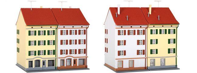 kibri 36843 Mehrstöckiges Wohnhaus mit Ladengeschäft, 2 Stück Bausatz Spur Z