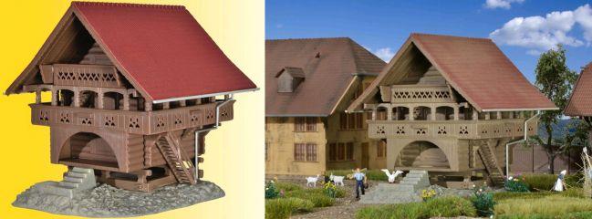 kibri 38028 Speicher in Egg Gebäude Bausatz Spur H0