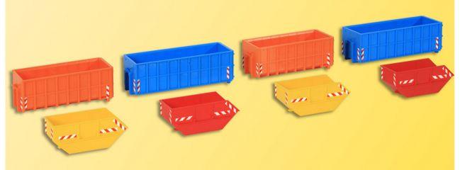 kibri 38648 Deko-Set Absetzcontainer Bausatz Spur H0