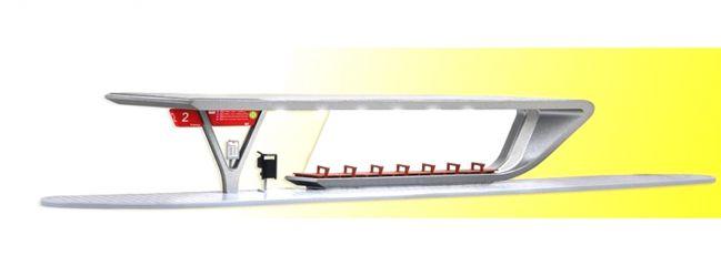 kibri 39007 Bushaltestation inkl. LED-Beleuchtung Bausatz Spur H0