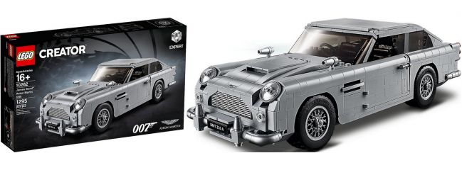 LEGO 10262 James Bond Aston Martin DB5 | LEGO CREATOR Konstruktionsbaukasten