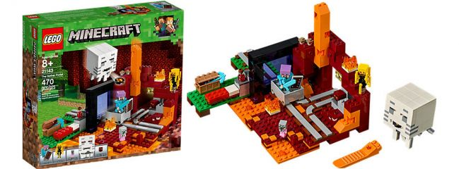 LEGO 21143 Netherportal   LEGO MINECRAFT