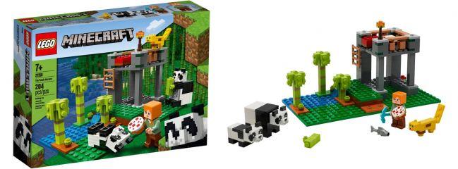 LEGO 21158 Der Panda Kindergarten | LEGO MINECRAFT