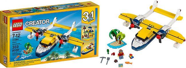 LEGO 31064 Wasserflugzeug - Abenteuer   LEGO CREATOR
