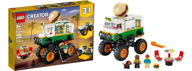 LEGO 31104 Burger Monster Truck | 3in1 | LEGO CREATOR