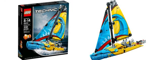 ausverkauft | LEGO 42074 Rennyacht | LEGO TECHNIC