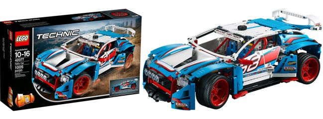 LEGO 42077 Rally Car   LEGO TECHNIC