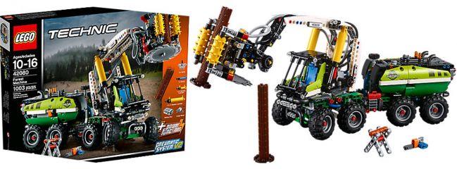 LEGO 42080 Harvester-Forstmaschine |  LEGO TECHNIC