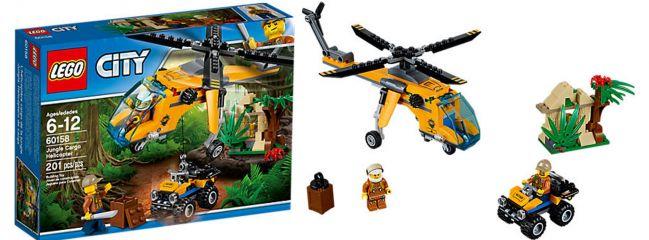LEGO 60158 Dschungel-Frachthubschrauber | LEGO CITY