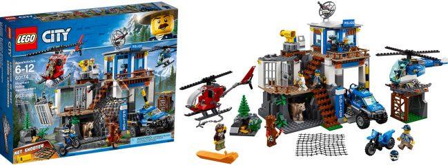LEGO 60174 Hauptquartier der Bergpolizei | LEGO CITY