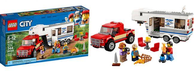 LEGO 60182 Pickup & Wohnwagen   LEGO CITY