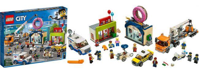 LEGO 60233 Große Donut Shop Eröffnung | LEGO CITY