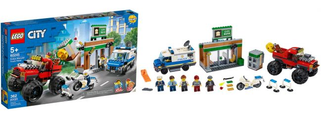 LEGO 60245 Raubüberfall mit dem Monster-Truck | LEGO CITY