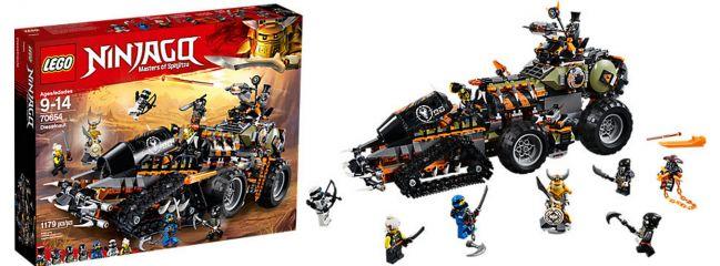 ausverkauft | LEGO 70654 Drachen-Fänger | LEGO NINJAGO