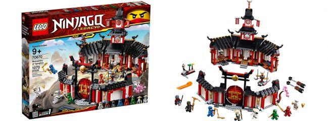 LEGO 70670 Kloster des Spinjitzu | LEGO NINJAGO