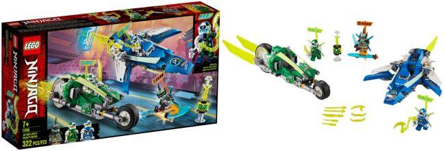 LEGO 71709 Jay und Lloyds Power-Flitzer | LEGO NINJAGO