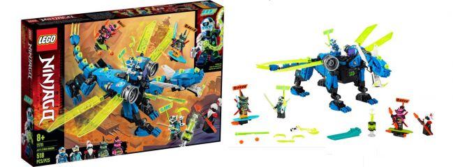 LEGO 71711 Jays Cyber Drache   LEGO NINJAGO