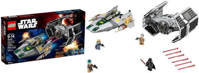 LEGO 75150 Vaders TIE-Fighter vs. A-Wing Starfighter | LEGO STAR WARS