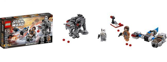 LEGO 75195 Ski Speeder First Order Walker Microfighter | LEGO STAR WARS