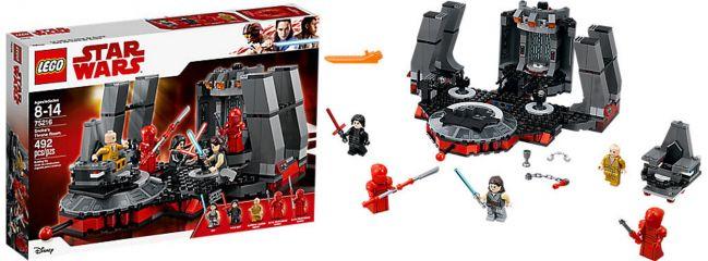 Lego 75216 Snokes Thronsaal | LEGO STAR WARS