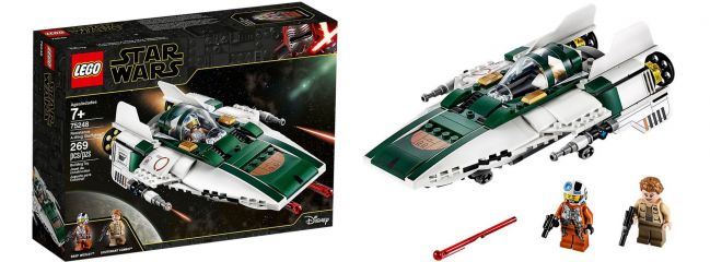 LEGO 75248 Resistance A-Wing Starfighter | LEGO STAR WARS