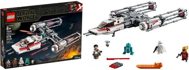 LEGO 75249 Resistance Y-Wing Starfighter | LEGO STAR WARS