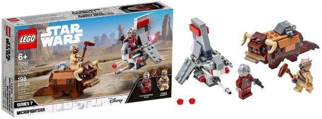 LEGO 75265 T-16 Skyhopper vs Bantha Microfighters | LEGO STAR WARS
