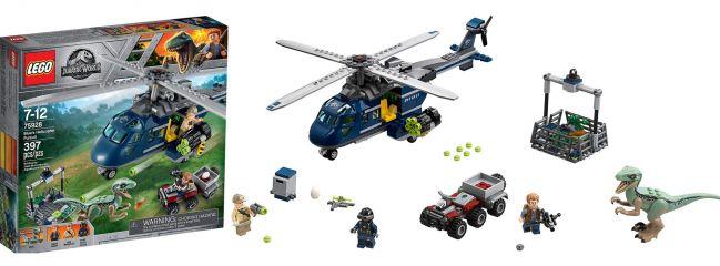 ausverkauft | LEGO 75928 Blue`s Hubschrauber-Verfolgungsjagd | LEGO JURASSIC WORLD
