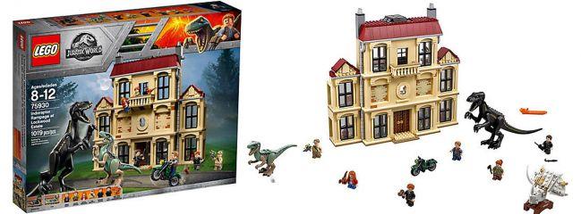 ausverkauft | LEGO 75930 Indoraptor-Verwüstung des Lockwood Anwesens | LEGO JURASSIC WORLD