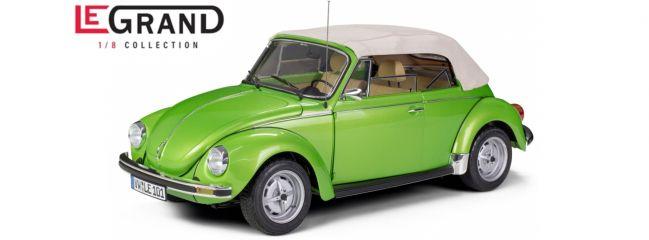 LEGRAND LE101 VW Käfer Cabrio 1303, viperngrün-met.   Limited Edition   Premium Bausatz 1:8
